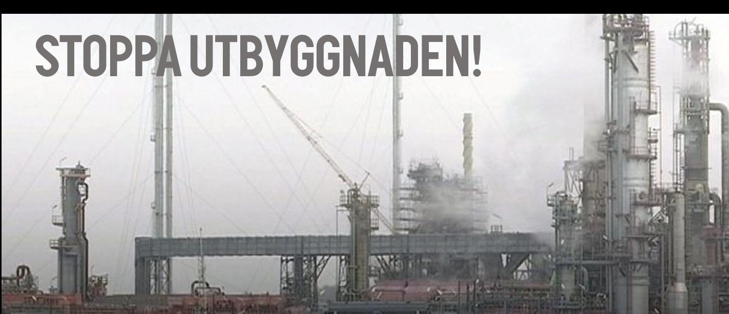 Bild av raffinaderiet.
