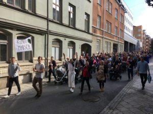 Klimatmarsch i Norrköping