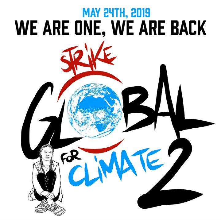 We are one, we are back - Global Strike For Future - 24 May