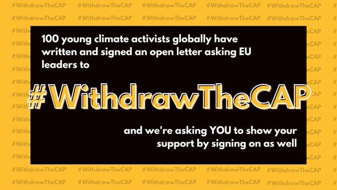 Skriv på #WithdrawTheCAP